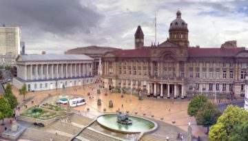 a picture of birmingham city centre
