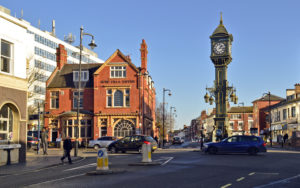 Chamberlain Clock, Jewellery Quarter, Birmingham UK