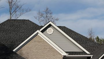 picture of a new roof replacement in birmingham